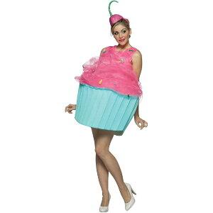 カップケーキ コスチューム 大人 女性 コスプレ 衣装 食べ物 お菓子 スイーツ フード 目立つ 派手 メルヘン