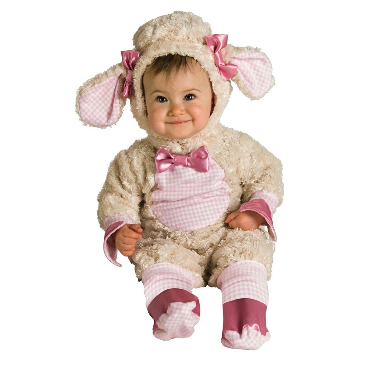 羊 コスチューム ベビー 赤ちゃん 衣装 着ぐるみ 動物 コスプレ ハロウィン 仮装 2015年 干支 あす楽