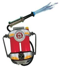 水鉄砲 背負える リュック バックパック 子供 幼児 プール おもちゃ 消防士 ホース