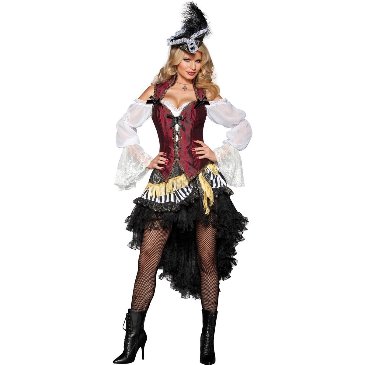 パイレーツ 海賊 ハロウィン コスプレ 衣装 公海の女海賊 大人用コスチューム ハロウィン コスチューム あす楽