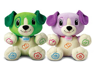 寶貝越級玩具孩子英語音樂幼兒玩具毛絨 PAL 童軍 & 紫