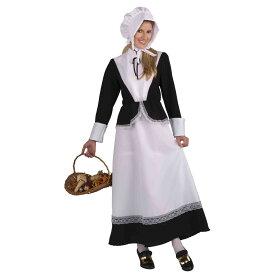 ハロウィン ターキー 七面鳥 コスプレ衣装 ピルグリム(イギリス人入植者) 大人用/女性用コスチューム