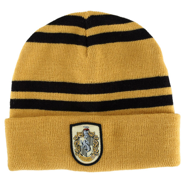 在庫処分市 ハリーポッター 帽子 ハッフルパフ ニット帽 黄色 あす楽