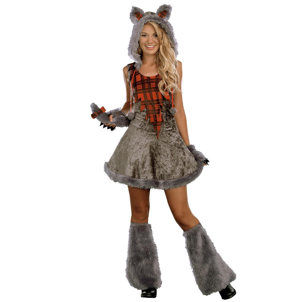 ハロウィン 衣装 コスチューム オオカミ 狼女 ウルフガール ティーンコスチュームハロウィン 衣装・コスチューム あす楽