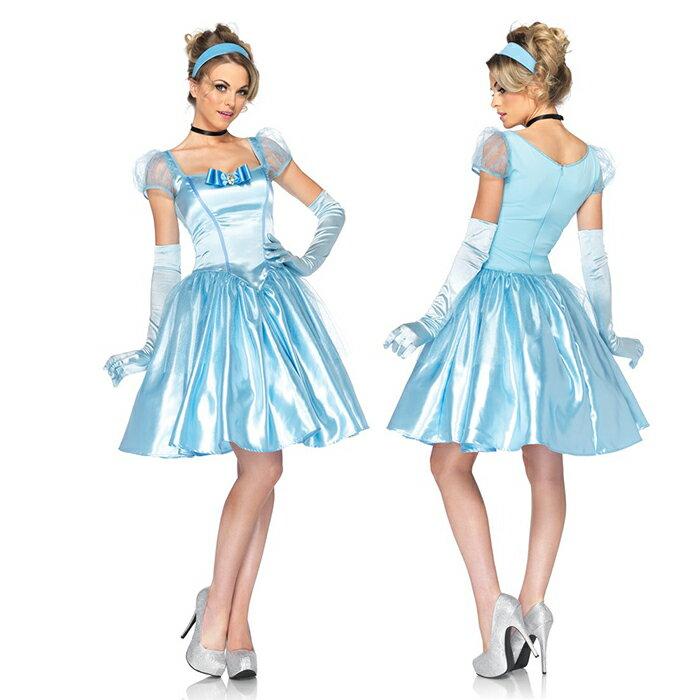 ハロウィン シンデレラ コスプレ 大人 ドレス コスチューム 女性 衣装 ディズニー プリンセス