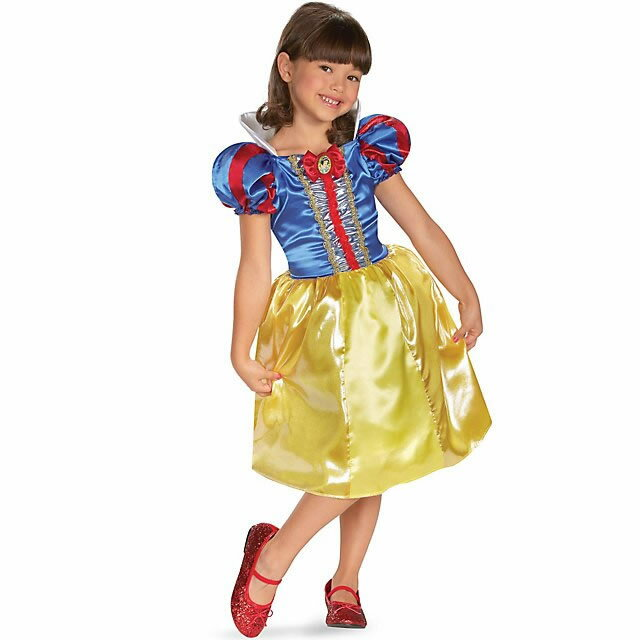 在庫処分市 白雪姫 コスプレ 子供 コスチューム ドレス 衣装 プリンセス 女の子用 ハロウィン 仮装 あす楽