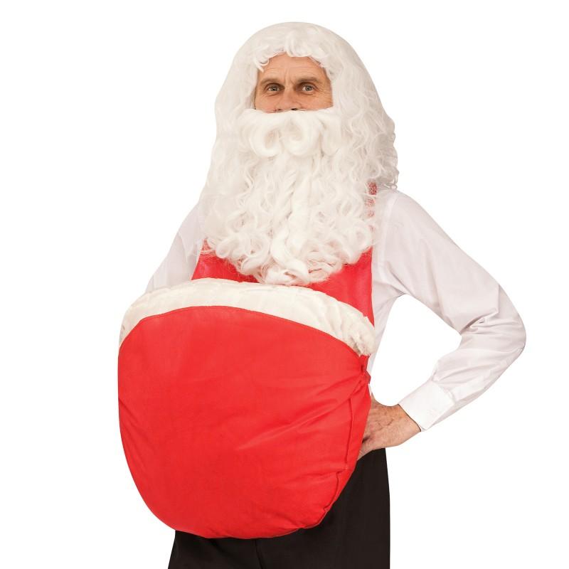 在庫処分市 クリスマス サンタクロース 腹 グッズ コスプレ 仮装 小道具 あす楽