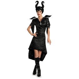 ディズニー コスチューム 大人 マレフィセント コスプレ 衣装 眠れる森の美女 魔女 魔法使い 洗礼式ガウン セクシー