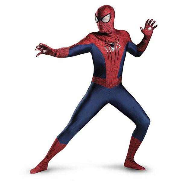 ハロウィン スパイダーマン コスプレ コスチューム アメイジング・スパイダーマン 衣装 スーツ 劇場版 大人 アメコミ ヒーロー 海外 映画 キャラクター