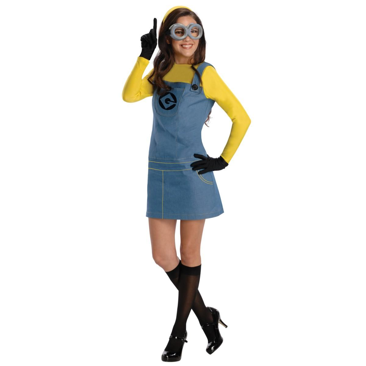 ハロウィン ミニオン コスプレ 衣装 大人 怪盗グルー ミニオンズ コスチューム 女性 あす楽