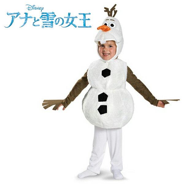 ディズニー コスチューム 子供 アナと雪の女王 オラフ 着ぐるみ コスプレ 仮装 衣装 雪だるまオラフの着ぐるみ 公式 ライセンス