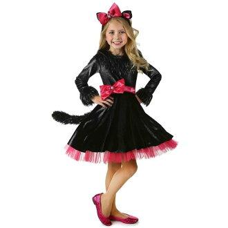 Barbie pussy cat cosplay children's Girl Costume cosplay costume set-costumes