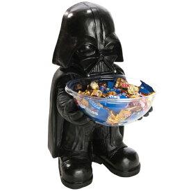 スターウォーズ ハロウィン グッズ 飾り デコレーション ダースベイダーのキャンディーボウルとキャンディーホルダーセット