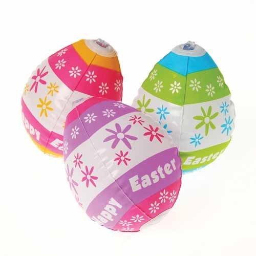 イースターエッグ イースターバニー エッグハンティング イースターグッズ 雑貨 卵 デコレーション パーティ 膨らむイースターエッグ12個セット あす楽