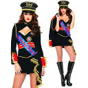 ハロウィン ミリタリー 軍人 コスチューム 衣装 コスプレ 衣装 仮装 女性用 船長