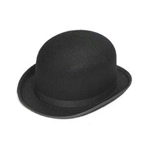 フェルト 山高帽 子供 黒 帽子 ハロウィン 小物 コスプレ メリー・ポピンズ メアリー ポピンズ