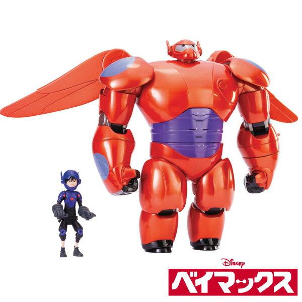 ベイマックス フィギュア 人形 28cm デラックス フライング ベイマックス ヒロ 11cm アクションフィギュア あす楽