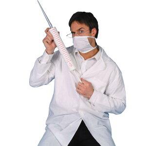 ハロウィン仮装医者コスプレグッズ大きな注射器