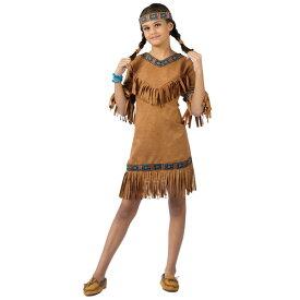 ネイティブアメリカン インディアン 女の子用 コスチューム 民族衣装 ハロウィン コスプレ コスチューム・衣装