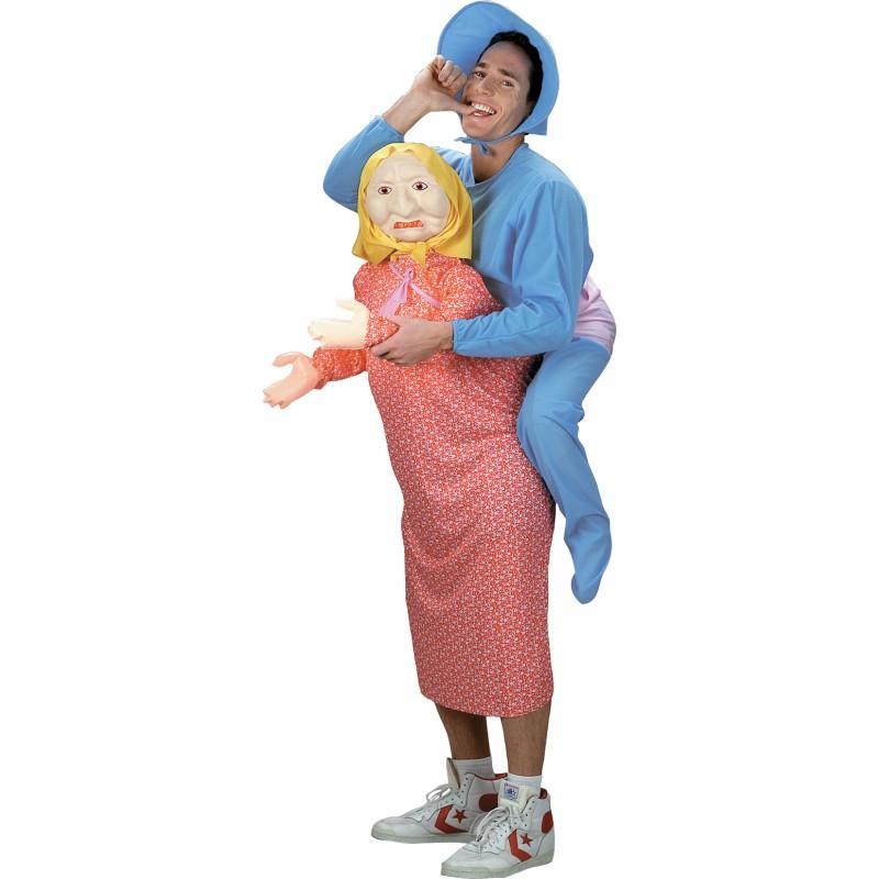 ハロウィン コスプレ おもしろコスチューム 大人 男性 お母さんに抱かれたいつまでも子供でいたい赤ちゃんの衣装セット あす楽