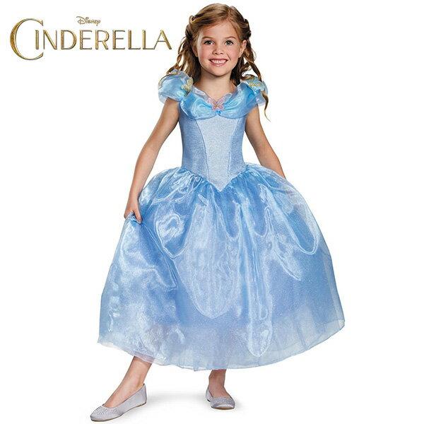 ハロウィン シンデレラ コスプレ コスチューム ドレス 子供 子ども用 衣装 ディズニー 公式ライセンス商品