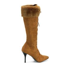新生活 レディース 靴 大きいサイズ もある ハロウィン 雑貨 グッズ プリーザー社製 ブーツ マウンテン120 タンハロウィン 雑貨 グッズ