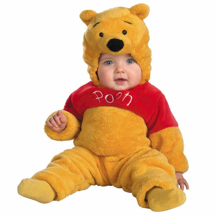 ハロウィン 赤ちゃん ディズニー コスチューム ディズニー くまのプーさん 赤ちゃん 着ぐるみ ベビー 服 ベビープー クマ コスチューム コスプレ 衣装 あす楽