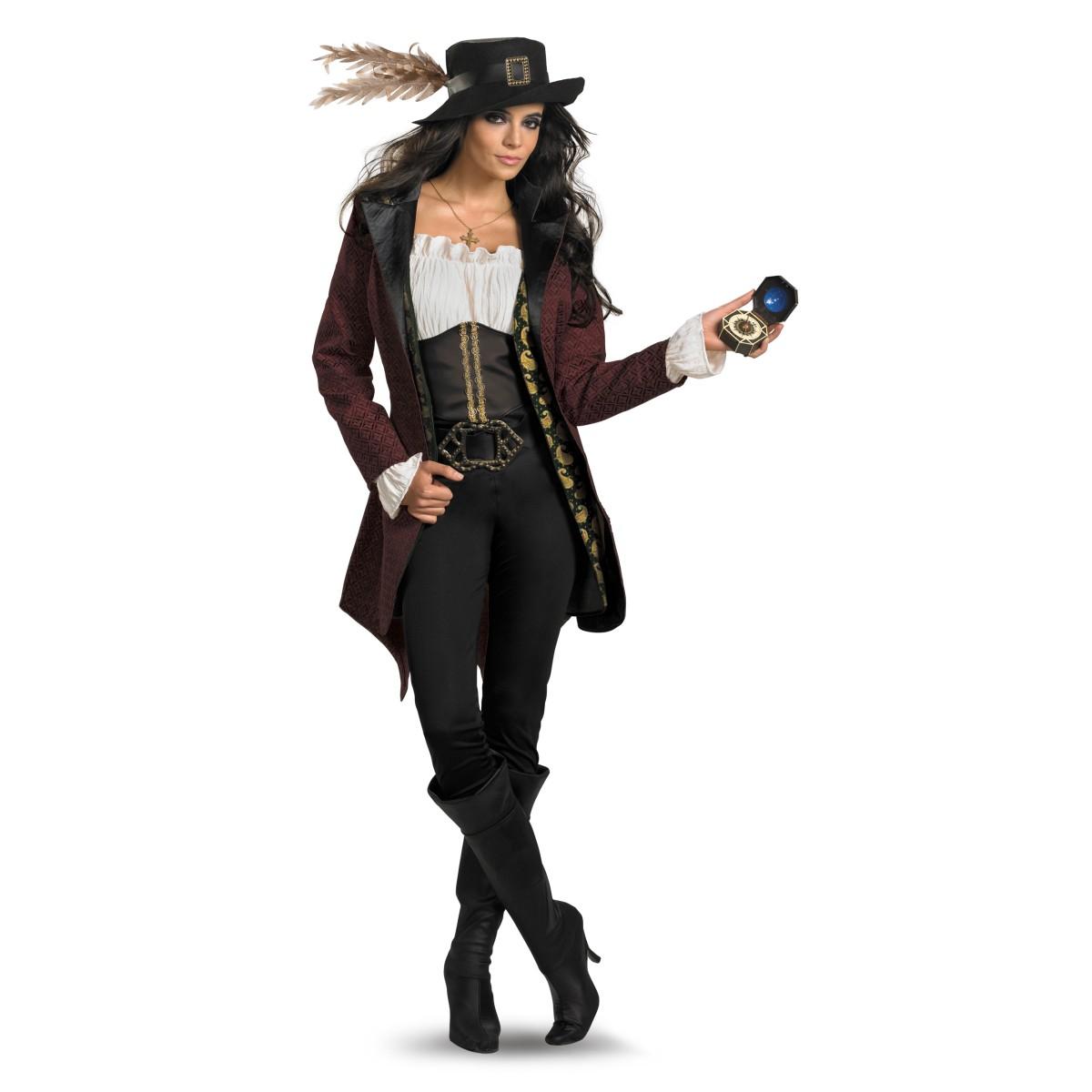 パイレーツ・オブ・カリビアン 生命の泉 コスプレ アンジェリカ コスチューム 衣装 大人 女性 仮装 ディズニー ハロウィン 仮装 海賊 レディース
