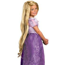 塔の上のラプンツェル ウィッグ かつら 子供用 ディズニー コスプレ グッズ ハロウィン 仮装 長い髪の毛