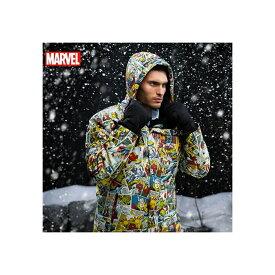 スキーウェア メンズ ジャケット スノボ スキー 大人用 アメコミ マーベル コミックス デザイン 雪 誕生日 ホワイトデー ギフト プレゼント
