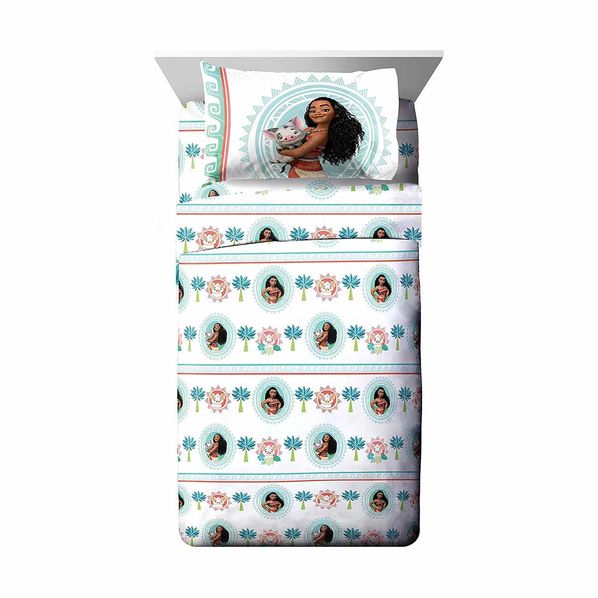 モアナと伝説の海 インテリア グッズ 寝具 ベッドシーツ セット シングル ツイン 子供部屋 ディズニー