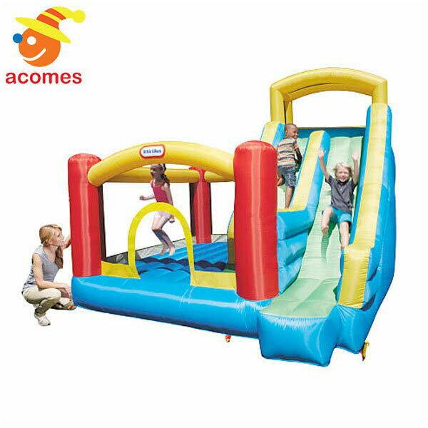 膨らませる 大型 野外 遊具 ジャイアント スライド バウンサー 子供 幼児 ジャンピング リトル タイクス Little Tikes