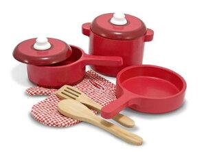 鍋 フライパン おままごと セット メリッサ キッチン 台所 料理 調理器具 子供用 おもちゃ プレゼント 入学祝