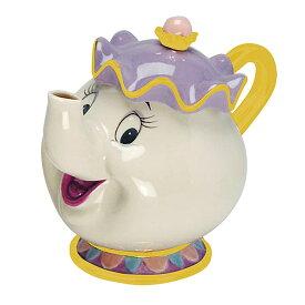 美女と野獣 雑貨 ポット夫人 ミセスポット ティーポット セラミック 食器 ディズニー 公式 インテリア