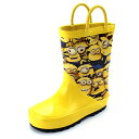ミニオン 長靴 レインブーツ 黄色 キャラクター 子供 キッズ 雨具 梅雨 グッズ