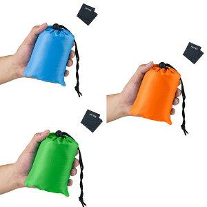 レジャーシート 持ち運び コンパクト 軽い ポケットサイズ 撥水 海外 カラフル ピクニック キャンプ アウトドア グッズ