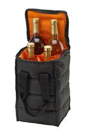 Handy Laundry ワインバッグ ワイン ボトルホルダー キャリー トートバッグ 4本用 ピクニック キッチン 雑貨 外出用 ギフト プレゼント おしゃれ シャンパン