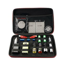電子タバコ VAPE ベイプ ケース 携帯 キャリーバッグ 海外製 旅行 トラベル グッズ Coil Master コイルマスター