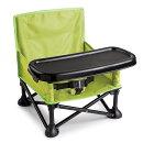 SummerInfantサマーインファント赤ちゃん椅子ベビーチェアトレー付折り畳み式持ち運べるポータブル緑海外育児グッズ