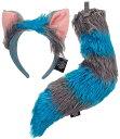 アリスインワンダーランド チェシャ猫 しっぽ 耳 コスプレ 仮装 小道具