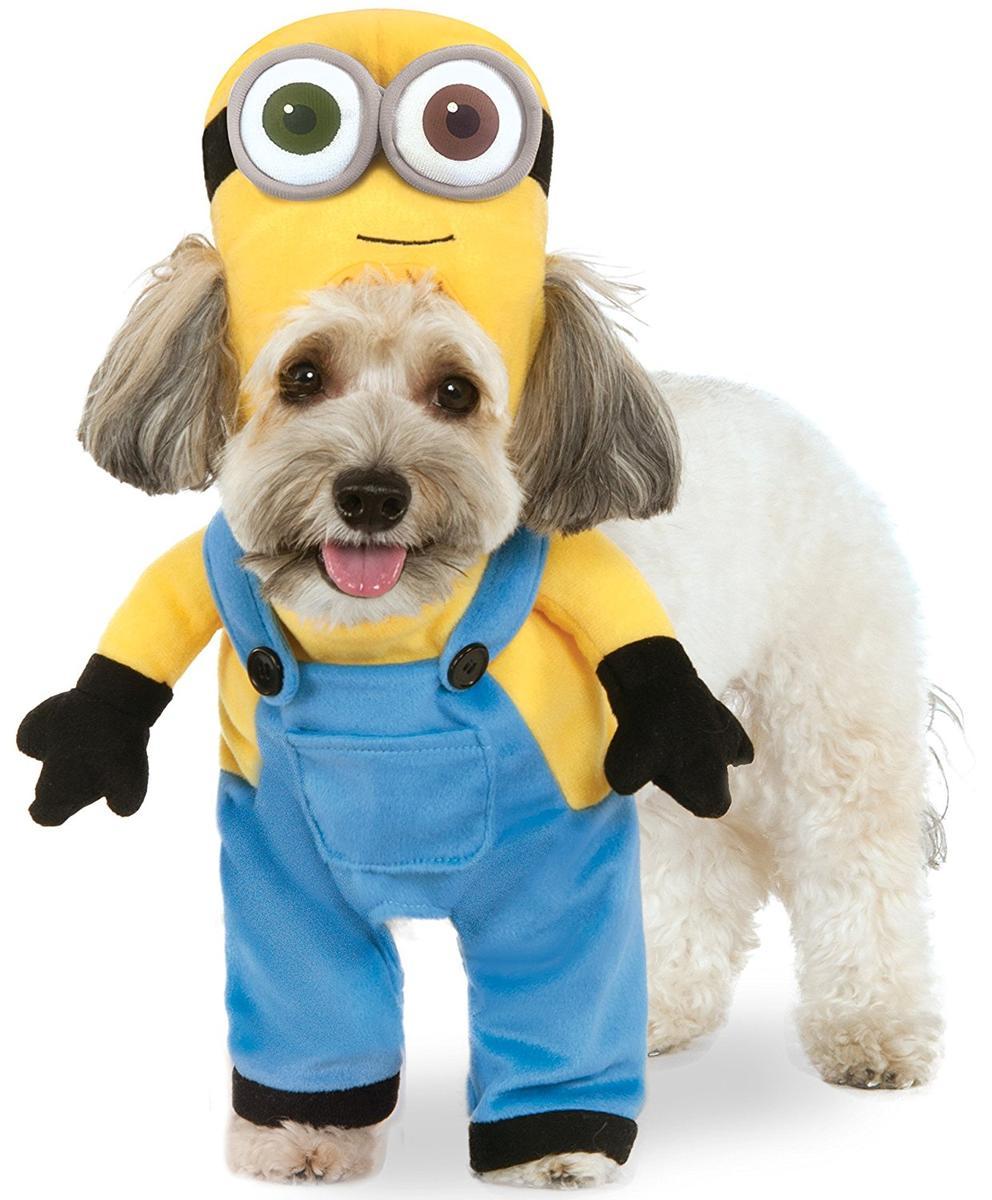 ハロウィン ペット 犬 コスチューム ミニオン ボブ コスプレ 仮装 着ぐるみ 衣装 USJ ユニバ 仮装 パレード 年賀状 戌年