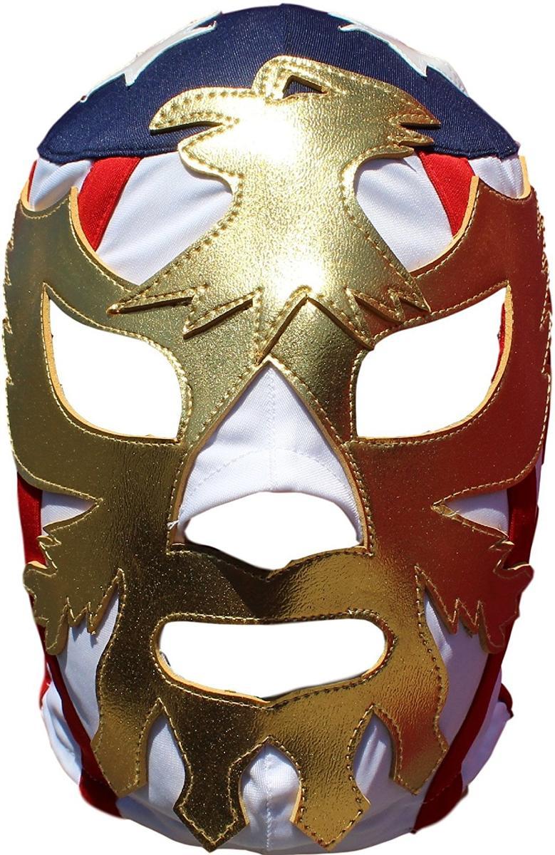 プロレス マスク パトリオット アメリカ 覆面 レスラー ルチャリブレ レスリング