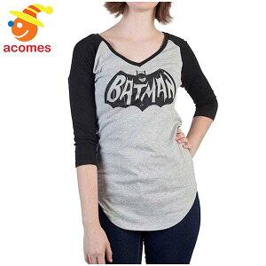 バットマン Tシャツ ジュニア サイズ 女の子 ガールズ クラシック ロゴ Vネック ブラック