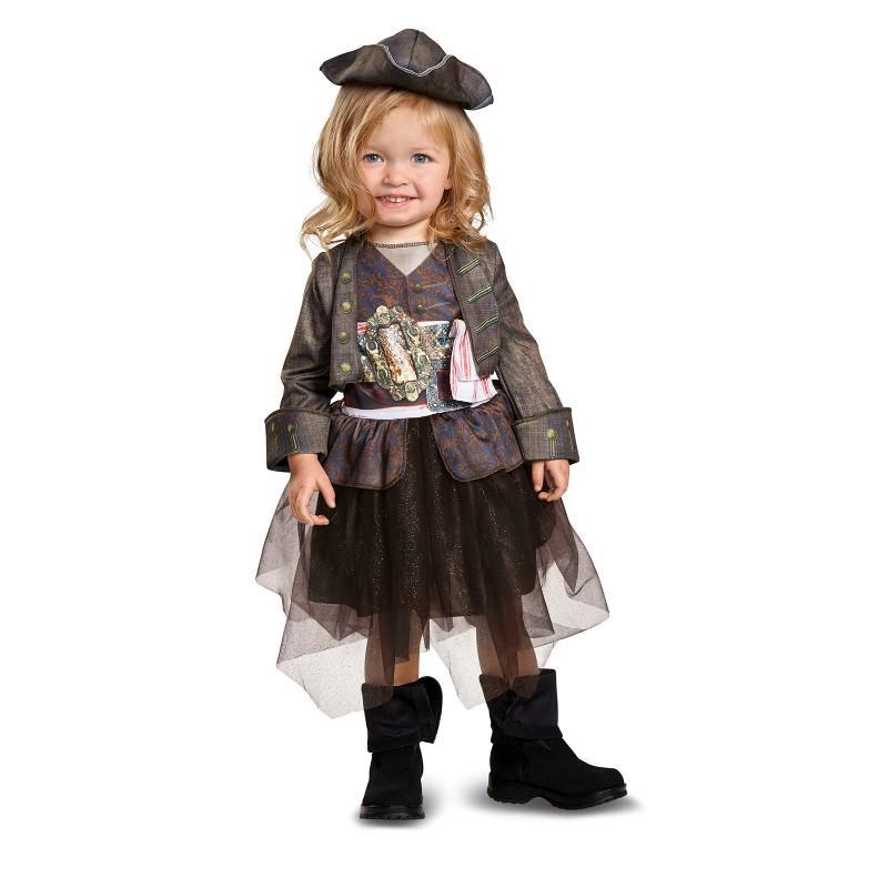 パイレーツ・オブ・カリビアン 最後の海賊 グッズ ジャックスパロウ コスチューム チュチュスカート 海賊 帽子 コスプレ 仮装 幼児