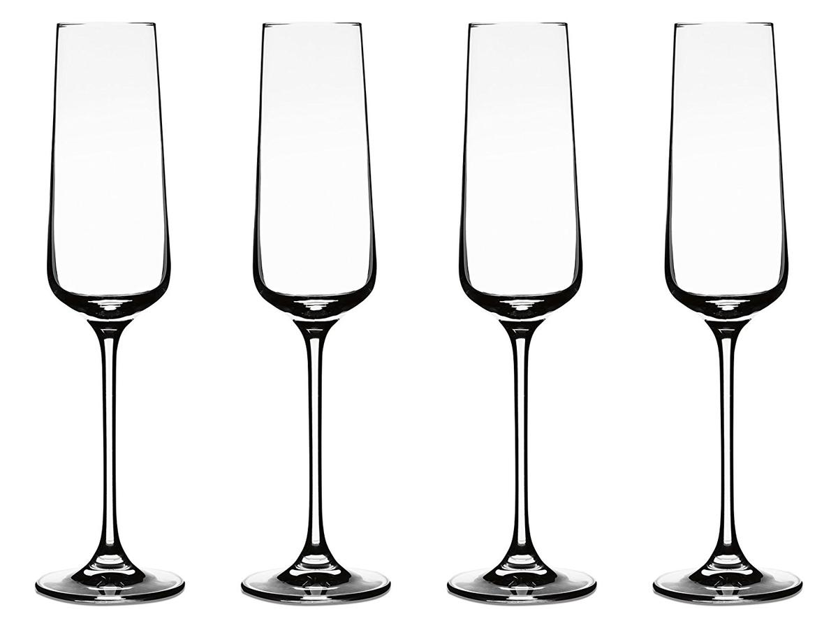 Cuisinart シャンパングラス フルートグラス 4本 セット バー用品