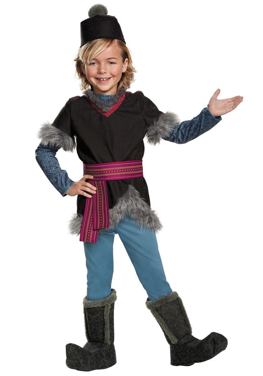 ハロウィン アナと雪の女王 クリストフ コスチューム 衣装 子供 ディズニー コスプレ 仮装 キッズ