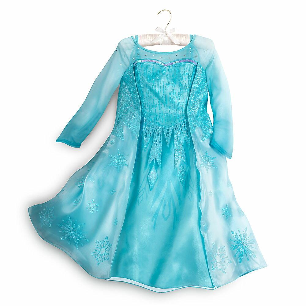 ディズニー コスチューム 子供 アナと雪の女王 エルサ ドレス 衣装 コスプレ 仮装 キッズ