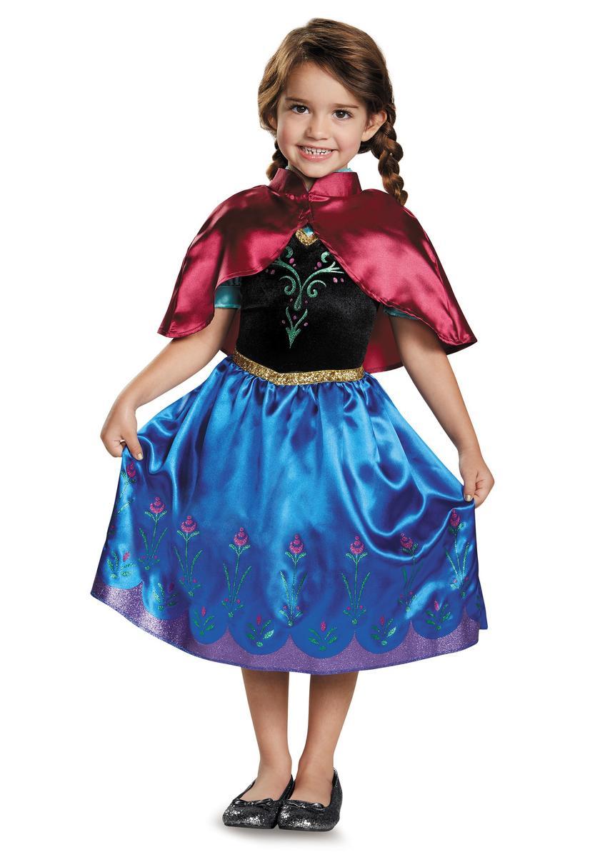 ディズニー コスチューム 子供 アナと雪の女王 アナ ドレス 衣装 幼児 マント セット コスプレ 仮装 キッズ
