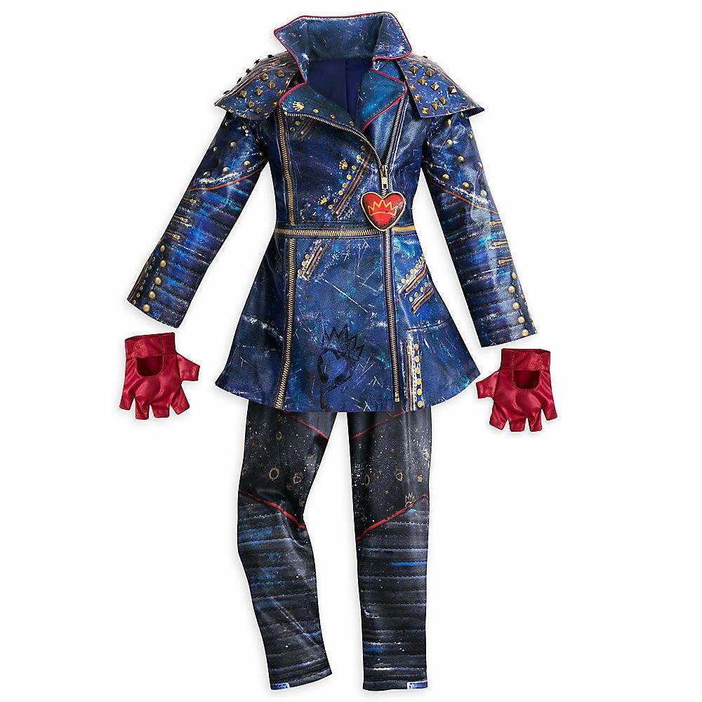 ハロウィン ディセンダント2 イヴィ コスチューム 衣装 ディズニーストア 子供 キッズ コスプレ 仮装 あす楽