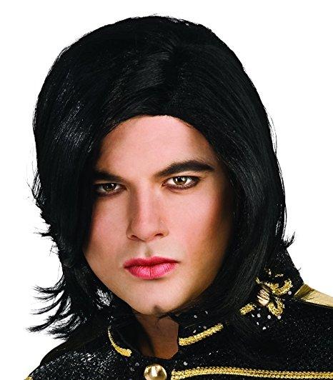 在庫処分市 マイケルジャクソン かつら ウィッグ 大人 コスプレ 仮装 あす楽